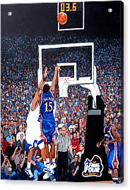 A Shot To Remember - 2008 National Champions Acrylic Print
