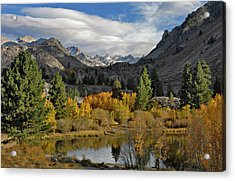 A Sierra Mountain View Acrylic Print
