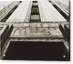 A Sign Of The Times - Vintage Acrylic Print