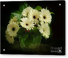 A Simple Bouquet Acrylic Print by Nancy Dempsey