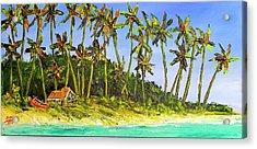 A Simple Life#374 Acrylic Print by Donald k Hall