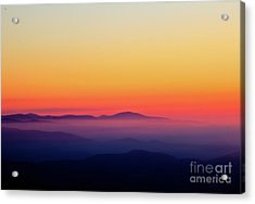 Acrylic Print featuring the photograph A Simple Sunrise by Douglas Stucky