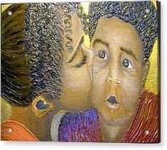 A Sisters Love Acrylic Print by Keenya  Woods