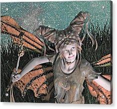 She Belongs -- With  Acrylic Print