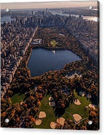 A Slice Of New York City  Acrylic Print
