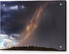 Acrylic Print featuring the photograph A Sliver Of Color by Rick Furmanek