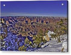 A Snowy Grand Canyon Acrylic Print