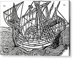 A Spanish Ship Acrylic Print