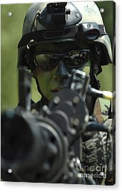 A Special Warfare Combatant-craft Acrylic Print