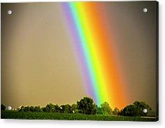 A Spectrum Of Nebraska 002 Acrylic Print