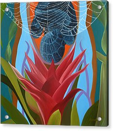 A Spider Baby Acrylic Print by Sunhee Kim Jung