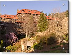 A Spring Evening At The Grove Park Inn Acrylic Print