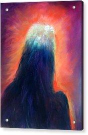 A Star Is Born Acrylic Print by Sally Seago