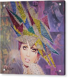 A Star Is Born This Way Acrylic Print by Stapler-Kozek