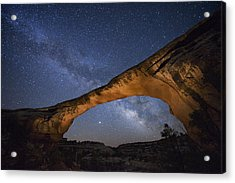 A Starry Night Gleams Above Owachomo Acrylic Print by Jim Richardson