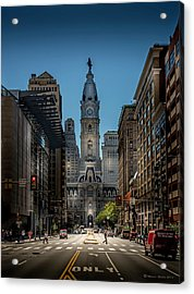 A Step Above  Acrylic Print by Marvin Spates