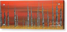 A Still Day On The Outskirts Of Hades Acrylic Print