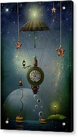 A Stitch In Time Saves Nine Acrylic Print