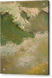A Storm At Sea Acrylic Print