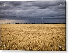 A Storm Passing By Acrylic Print