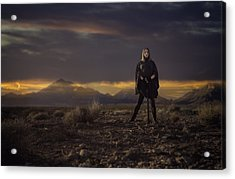 Acrylic Print featuring the photograph A Storms Brewing by Ryan Smith