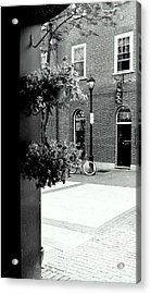 Acrylic Print featuring the photograph A Stroll Through Town Square by Laura DAddona