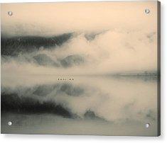 A Study Of Clouds Acrylic Print by Tara Turner