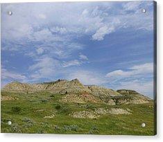 A Summer Day In Dakota Acrylic Print