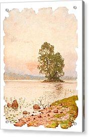 A Summer Evening Acrylic Print