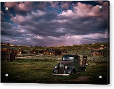 A Summer Evening In Bodie Acrylic Print