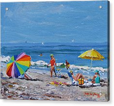 A Summer Acrylic Print by Laura Lee Zanghetti