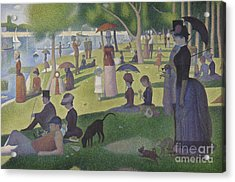 A Sunday On La Grande Jatte Acrylic Print by Georges Pierre Seurat
