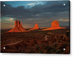 A Sunset To Remember Acrylic Print
