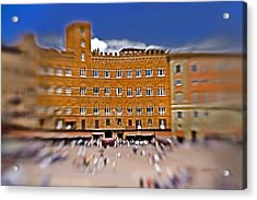 A Surreal Siena Acrylic Print by Marilyn Hunt