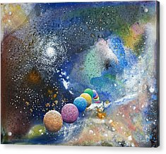 A Sweet Dance In The Heart Of God Acrylic Print by Lee Pantas
