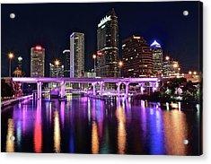 A Tampa Night Acrylic Print