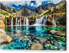 A Taste Of Paradise Acrylic Print