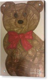 A Teddy Bear Acrylic Print