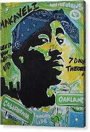 A Thugs Mind Acrylic Print