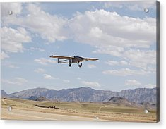 A Tiger Shark Unmanned Aerial Vehicle Acrylic Print by Stocktrek Images