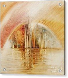 A Travel Do Heaven Acrylic Print by Fatima Stamato