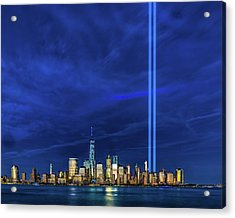 A Tribute At Dusk Acrylic Print
