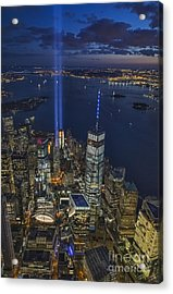 A Tribute In Lights Acrylic Print by Roman Kurywczak