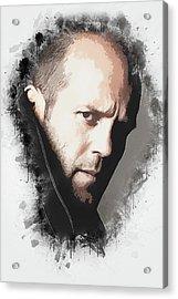 A Tribute To Jason Statham Acrylic Print