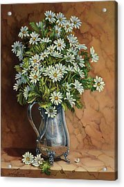 A Tribute To Lupetti Acrylic Print by Carolyn Sterling