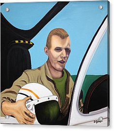 A Tribute To Maj. Lono Acrylic Print