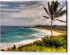 A Tropical Paradise Acrylic Print