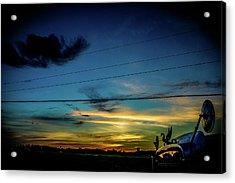 A Trucker's View Acrylic Print