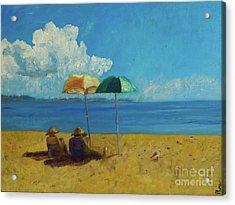 A Vacant Lot - Byron Bay Acrylic Print by Paul McKey