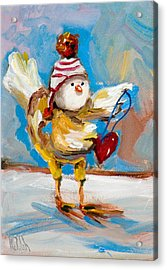 A Valentine For You Acrylic Print by Delilah  Smith